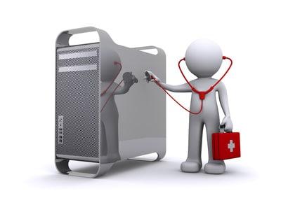 PC-Doktor untersucht Computer